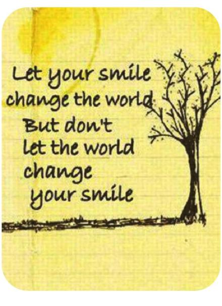 Smile, tree