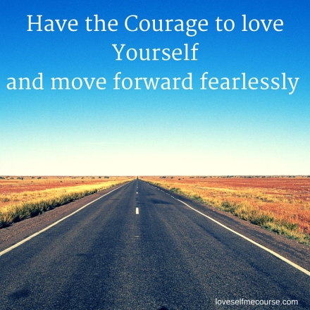 Move forward fearlessly