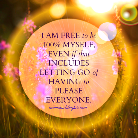 I am free to love myself